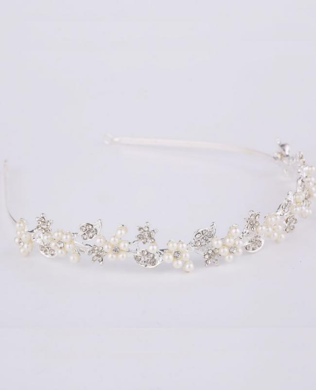 Diadeem Romantic Pearl