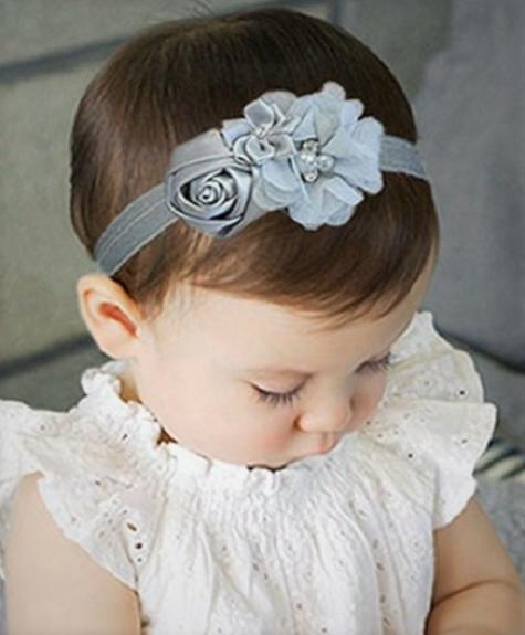 Haarband Lelia Grey